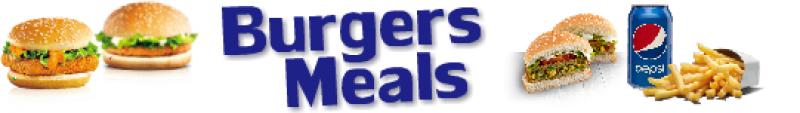 BURGERS MEAL DEALS